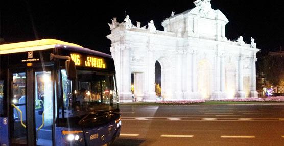 El cambio de la hora la madrugada del 28 al 29 de marzo produce variaciones en los 'búhos' de la EMT de Madrid