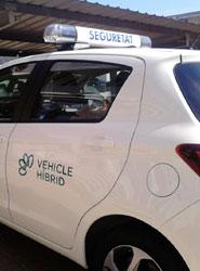 Cimalsa incorpora vehículos híbridos al servicio de seguridad y vigilancia de las centrales