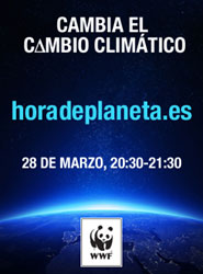 Cartel de 'La Hora del Planeta'.