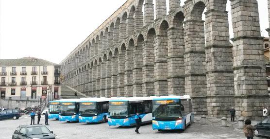 El consorcio de autobuses de la ciudad de Segovia amplía su flota con cinco Scania carrozados por Castrosua
