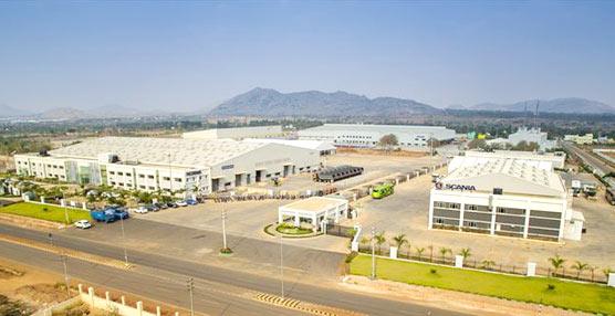 Scania comienza la producción de autobuses urbanos en la India, donde ya producía camiones desde 2013