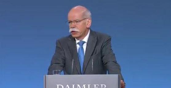 """""""Nuestra estrategía de crecimiento está dando sus frutos"""" Dieter Zetschem, presidente del Consejo Daimler"""