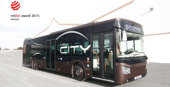 El modelo New City del Grupo Castrosua, premiado con el prestigioso galardón de diseño Red Dot