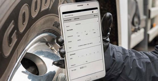Goodyear presenta la 'app' eJob, una innovadora aplicación para el servicio de neumáticos de camión