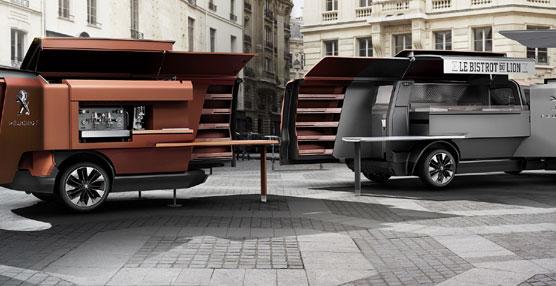 Peugeot presenta FoodTruck Peugeot, un revolucionario espacio gastronómico itinerante