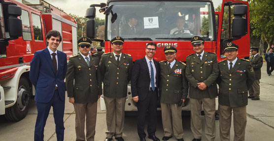 Magirus entrega a Chile las primeras 40 unidades de un pedido de 150 camiones contraincendios