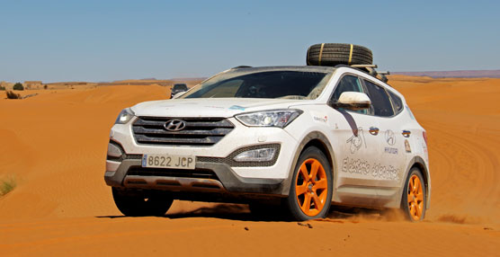 Los neumáticos coreanos Kumho Tyre han superado los 3.200 kilómetros del Desierto de los Niños