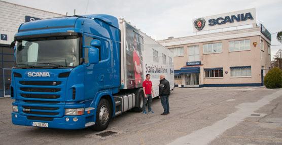 Pablo Ríos se prepara para afrontar la Final Europea del Campeonato de Jóvenes Conductores de Scania en Suecia