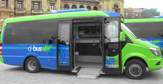 Dbus completa la renovación de su flota con la incorporación de dos nuevos microbuses para las zonas altas de San Sebastián