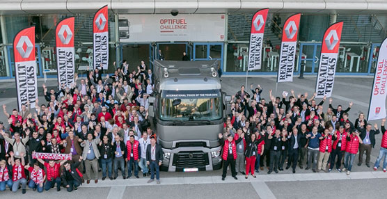 Arranca Optifuel Challenge 2015: el nuevo desafío de Renault Trucks en busca del mejor eco-conductor de España