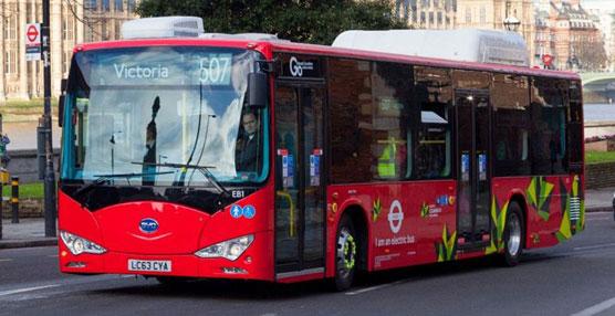 La marca china BYD entrega un total de 13 autobuses eléctricos al Ayuntamiento de Nottingham
