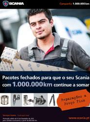 Scania prolonga la campaña preventiva de servicios para vehículos de más de 800.000 kilómetros
