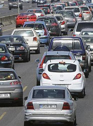 Más de la mitad de los conductores de empresa españoles nunca sufre atascos, según estudio de LeasePlan