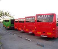 Un puesto de mando en Valdemoro controla los autobuses interurbanos del sureste de la región