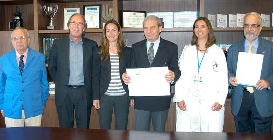 Fundación Seur entrega 10.000 euros al Hospital Universitario Ramón y Cajal para la investigación de una enfermedad infantil