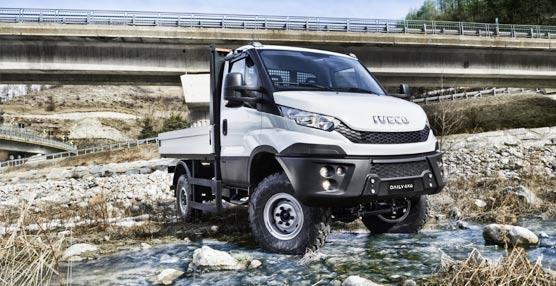 Nuevo Daily 4x4, vehículo perfecto para tareas que requieran conduir fuera de carretera asfaltada