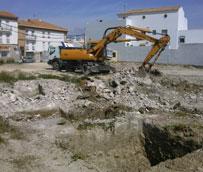 Comienzan las obras de construcción de una nueva estación de autobuses en Estepa