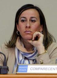 Conselleira de Medio Ambiente, Territorio y Infraestrutras de la Xunta de Galicia, Ethel Vázquez.