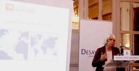 La alcaldesa de Cádiz presenta en Madrid la 'La Provincia de Cádiz. Plataforma Logística Sur de Europa'