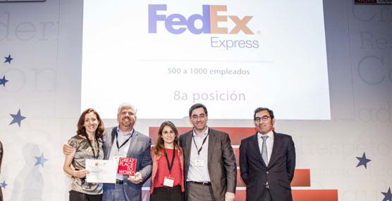 FedEx Express en la lista de las 10 mejores compañías para trabajar en España desde hace 10 años