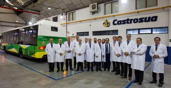 Grupo Castrosua acoge en sus instalaciones la reunión de la Comisión Ejecutiva de Atuc.