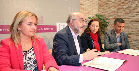 El Ayuntamiento de Toledo y el colegio Divina Pastora acuerdan ampliar el servicio de Pedibús a la tarde