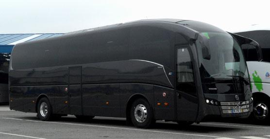 El SC7 Volvo B11R carrozado por Sunsundegui para el Grupo Afa.