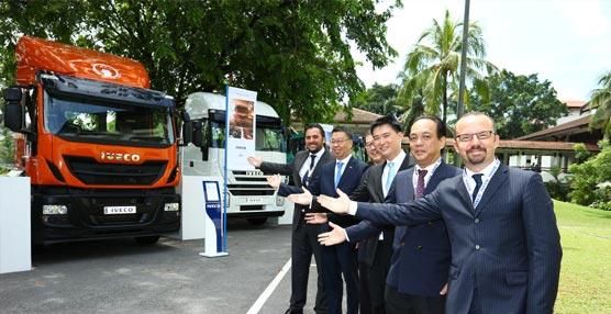 Iveco, marca de vehículos comerciales e industriales de CNH Industrial, desembarca en el mercado malayo