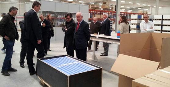Dula inaugura una nueva planta de operaciones logísticas en Zuera tras invertir 2,5 millones de euros