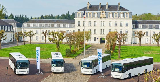 Iveco Bus suministra 159 autocares interurbanos al Ministerio de Defensa de Francia