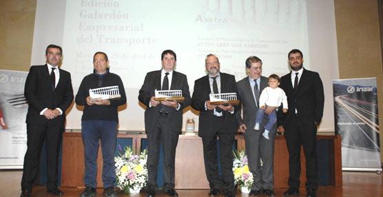 ASETRA celebró la XIV edición del Galardón Empresarial del Transporte con reconocimiento especial a Irizar