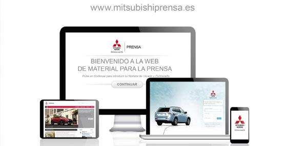 Mitsubishi estrena nueva página web de prensa con motivo del Salón del Barcelona