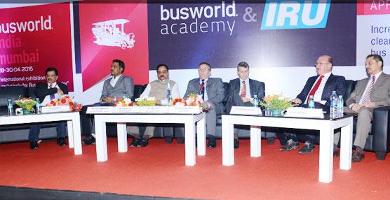 Los organizadores y los expositores de Busworld India, muy satisfechos con las cifras de participación del evento