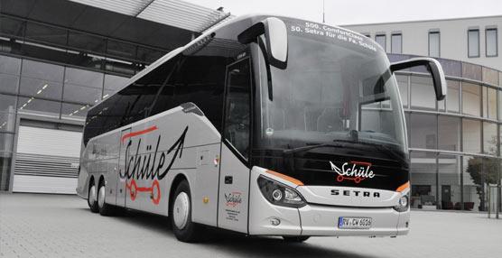 El vehículo número 500 del Setra ComfortClass 500 es suministrado al mercado alemán