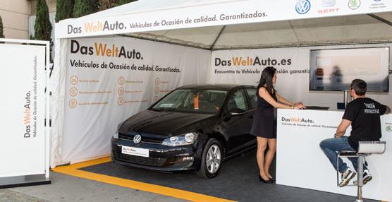 Das Weltauto, marca VO del Grupo Volkswagen, presente por primera vez en el Salón del Automovil de Barcelona