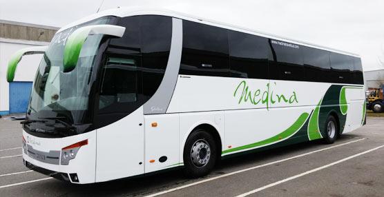 Autocares Medina Travel se une al grupo de empresas que poseen el modelo Stellae de Castrosua