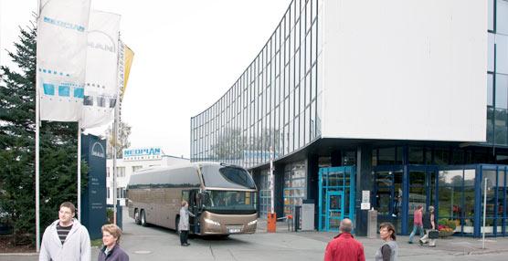 El Centro de Modificación de Autobuses del fabricante alemán MAN se pone en marcha en Plauen