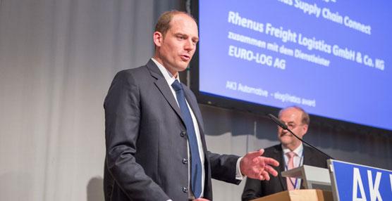 "Rhenus Freight Logistics galardonado con el ""elogistics award"" por su alta calidad operativa"