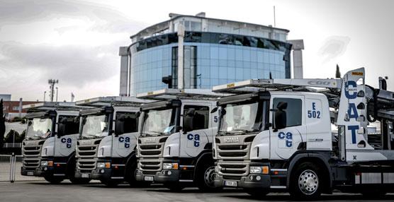 La empresa TOQUERO-ULTT incorpora a su flota 14 Scania P 410 con suspensión neumática integral