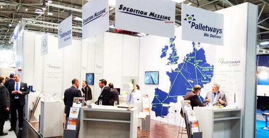 La empresa británica de distribución, Grupo Palletways, participa en la feria Transport Logistic 2015