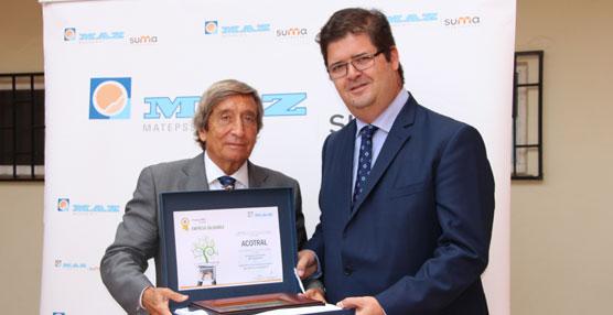 MAZ entrega a Acotral el Premio Empresa Saludable por el impulso y la originalidad de sus actuaciones preventivas