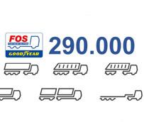 FleetOnlineSolutions de Goodyear crece un 45% y ya atiende a 290.000 vehículos comerciales en Europa