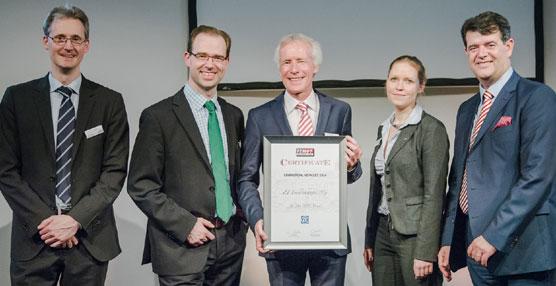 ZF Services es galardonado con el Premio Vehículos Industriales 2014 de TEMOT Internacional