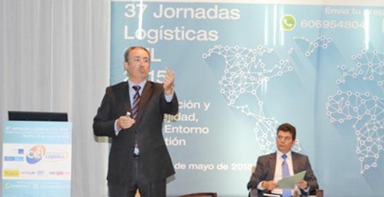 Luís Simões, presente en las 37 Jornadas Logísticas CEL, con Vítor Enes como su representante