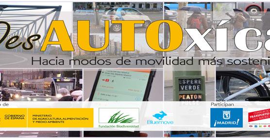 La EMT de Madrid decide colaborar con el proyecto DesAUTOxícate sobre movilidad sostenible