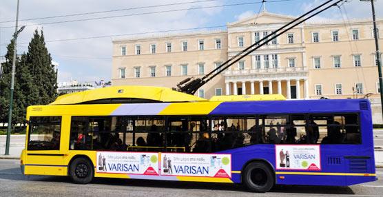 El transporte público griego no consigue escapar de la crisis en la que se haya sumido el país