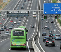 El precio del billete de autobús interurbano bajará este año alrededor del 0,15% por primera vez desde 2002