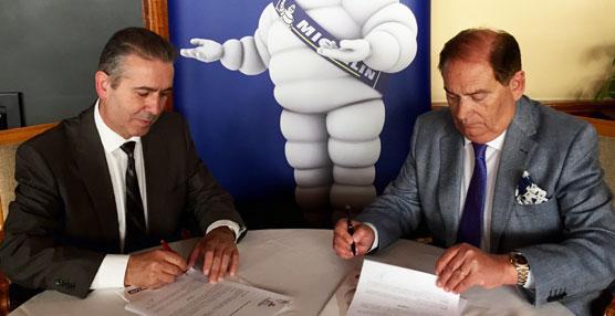 Michelin y la Federación de Automovilismo renuevan el acuerdo de colaboración y patrocinio mutuo