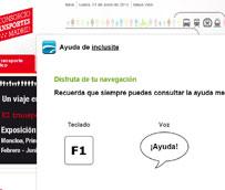 La nueva 'web' del Consorcio de Transportes de Madrid, galardonada en los Premios Madrid Accesible