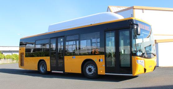 Castrosua continúa su expansión en el segmento urbano destinando una carrocería City Versus GNC a Fisersa